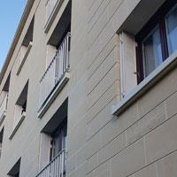 Ravalement de façades en pierre de taille