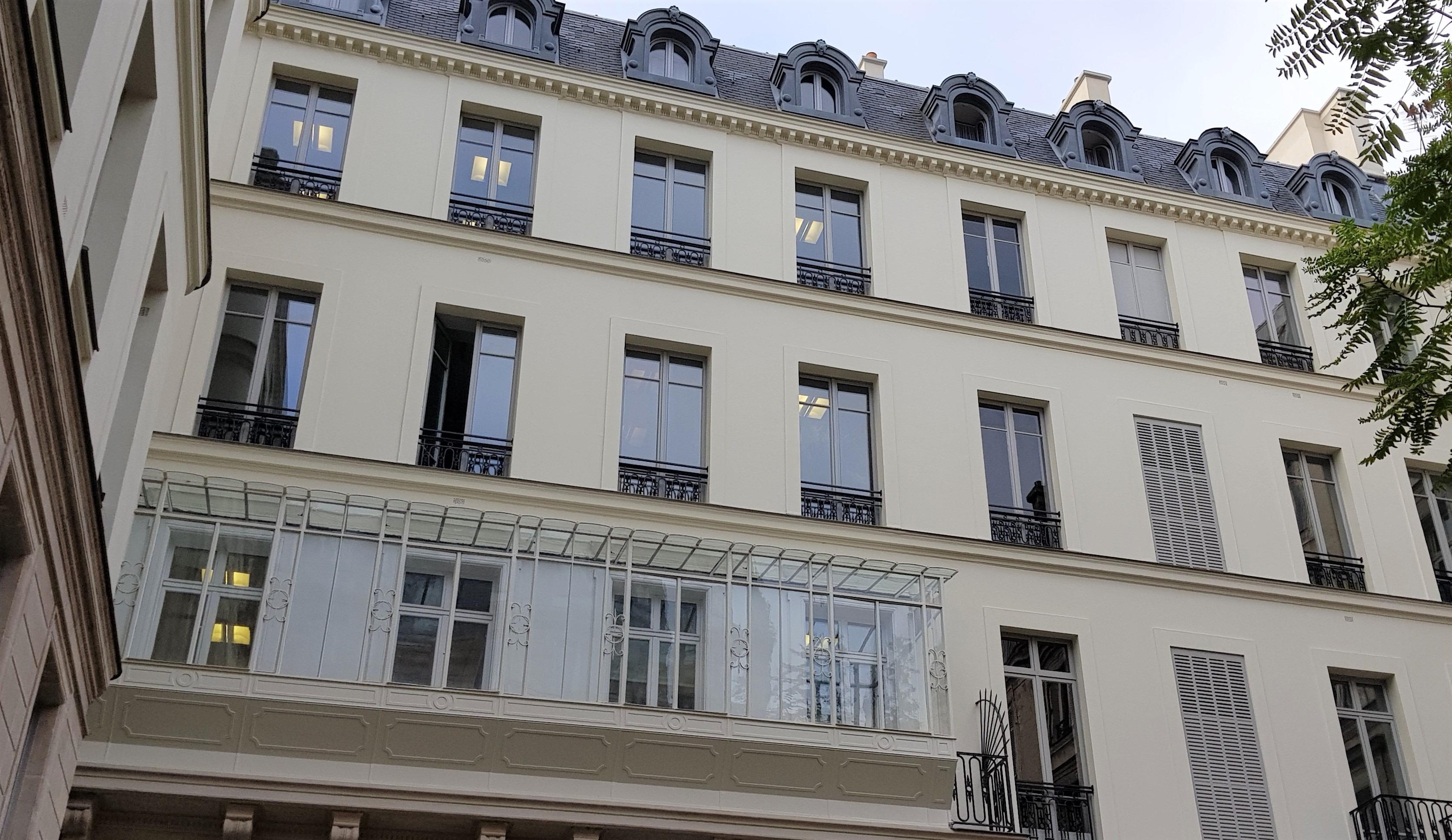Ravalement De Facade Enduit 148 Boulevard Haussmann Paris 8e 75 Peinteco
